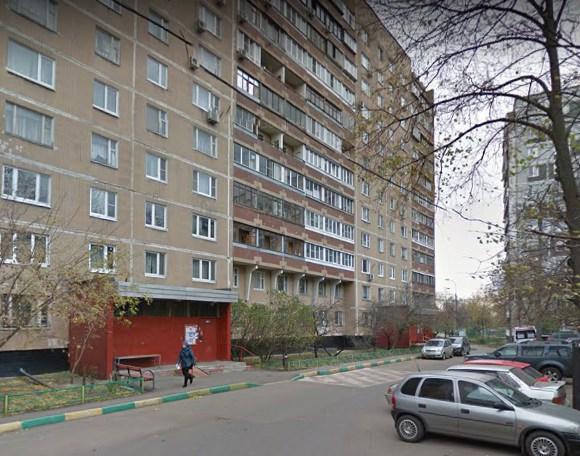 Улица Свободы д. 91 на карте Москвы