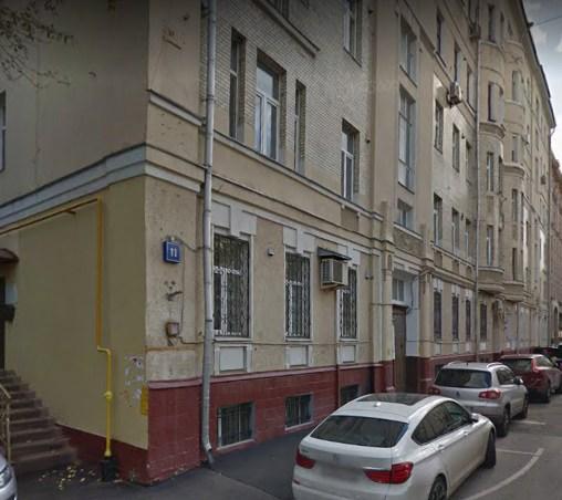 фото скатертного переулка едем