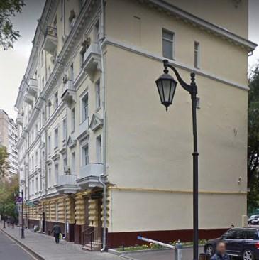 Москва Большая Бронная улица дом 7